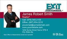 Exit Realty Business Cards With New Logo