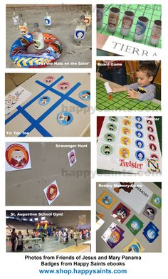 So many adorable All Saints' Day game ideas! Catholic Crafts, Catholic Kids, Catholic Saints, Catholic School, Patron Saints, Saints For Kids, All Saints Day, Religion Activities, Our Father Prayer