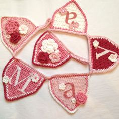 Idea to use for the mini bunting pattern