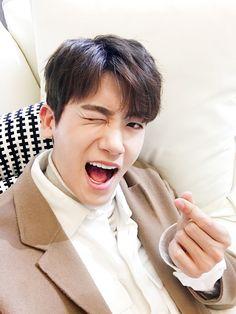"""""""Ahn Min Hyuk's selca #precious """""""