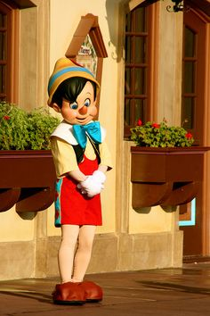 Pinocchio of Disney by joaquimbundo on deviantART