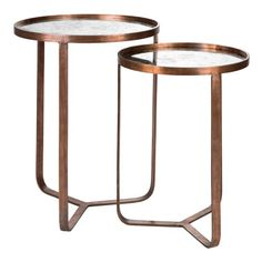 OH Maison Bob Set Of 2 Side Tables