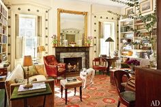 Architect Jim Joseph's Hudson Valley home, NY. Architectural Digest.