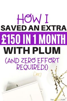 How I set aside an extra £150 automatically with the free Plum AI app! This money management app will help you automatically save more money, manage your subscriptions, and get control of your finances - this review looks at whether this free AI app is worth downloading.