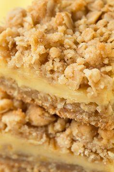 Lemon Creme Crumb Bars | Cooking Classy