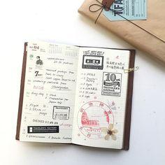 Week ❶⑶ * • • • * #midoritravelersnotebook #washitape #travelersnote #travelersfactory #midori #トラベラーズノート #トラベラーズファクトリー #手帳 #notebook #planneraddict #planner #マスキングテープ #文房具 #紙膠帶 #stamps #手帳寫真 #stationery #chamilgarden #萬年筆 #journal #日記 #stationeryholic #手帳好朋友 #journaling #stationeryaddict #トラベラーズノート倶楽部 #手帳ゆる友 #toolstoliveby