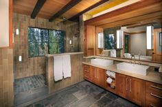 From modern to rustic, discover the top 23 best very small half bathroom ideas. Explore unique bathroom designs that are as accessible as they are discreet for guests. Rustic Bathroom Designs, Rustic Bathrooms, Small Bathroom, Bathroom Ideas, Bathroom Remodeling, Bathroom Wall, Bath Ideas, Bathroom Inspiration, Natural Bathroom