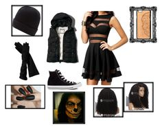 """Miss y/n Halloween"" by xaolina1 ❤ liked on Polyvore featuring art"