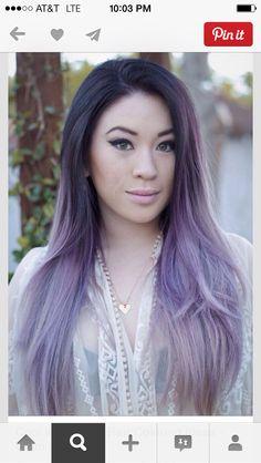 Pretty purple ombré!!!!