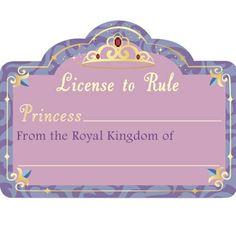 Princess License