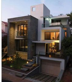 #residential #modern #designed #house