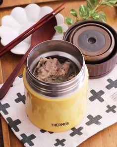 """♡あいのおうちごはん♡簡単レシピとお弁当おかず~ on Instagram: """"こんばんは❤ これからの季節に大活躍間違いなし!豚肉×キャベツでラクラク春雨スープ♡ ・ 本日最後の記事です! 先週の金曜日のお弁当にしていたできていない春雨スープです^^ これからの季節スープがあるとお弁当も嬉しいですよね^^ お湯を注ぐだけ系のスープも良いですが…"""" Soup In A Jar, Meals In A Jar, Bento, Food Inspiration, Healthy Recipes, Healthy Foods, Pudding, Lunch, Dishes"""