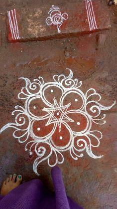 Easy Rangoli Designs Videos, Indian Rangoli Designs, Rangoli Designs Latest, Simple Rangoli Designs Images, Rangoli Designs Flower, Rangoli Border Designs, Rangoli Patterns, Colorful Rangoli Designs, Rangoli Ideas