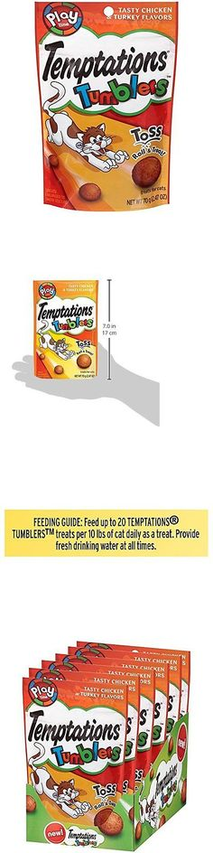 Cat Treats 63071: Temptations Tumblers Chicken And Turkey Flavor Treats For Cats 2.47-Ounce Pouch BUY IT NOW ONLY: $122.0