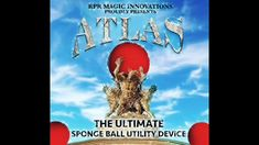 The Atlas is the ultimate sponge ball utility device. With the Atlas you will be able to make sponge balls instantly appear and vanish at your fingertips. Wait, that's not all. You will also have the ability to transform a sponge ball into a completely different object right in front of your spectator eyes. The possibilities are endless with the Atlas ultimate sponge ball utility device. Balls, Innovation, Presents, Magic, Kit, Eyes, Gifts, Favors, Cat Eyes