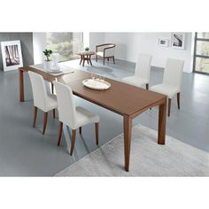Tavolo Quadrato Allungabile Bontempi.Bontempi Izac Extending Dining Table Dining Tables Chairs