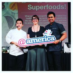 Latergram from last night's event at @america where we talked about all things superfoods. It was really rewarding to have so many excellent questions and to really get people thinking about what superfoods really are and how we can eat more of them for a healthy life. Thanks to @goodforeats for the opportunity to share and meet with everyone who was there!  #superfoods #atamerica #jakarta #wellness #health #gethealthy #wellnesswarung #goodforeats