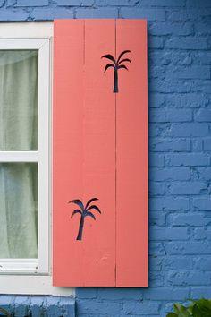 Palm shutters