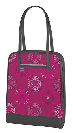 Thermos Raya® Lunch Tote Caprice, seems thin says good for frozen meals. also says holds 6 cans?