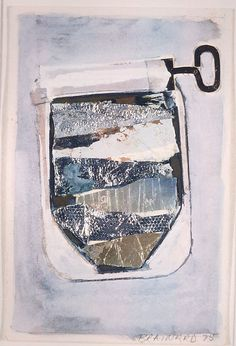 Joe Brainard, Sardines, mixed media, 1975