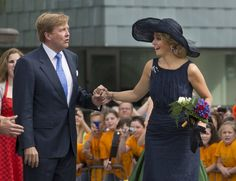 King Willem-Alexander and Queen Maxima - MYROYALS  FASHİON