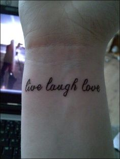 what if the font was longer and it formed a bracelet around the wrist