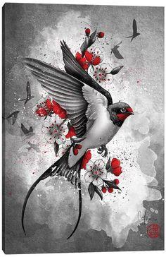 Canvas Prints by Marine Loup | iCanvas Canvas Artwork, Canvas Art Prints, Canvas Frame, Canvas Wall Art, Framed Art, Framed Prints, Poster Prints, Posters, Geisha