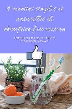 Comment faire un dentifrice fait-maison facile et bio ? 4 recettes DIY simples et naturelles ! - Eloge de la curiosité