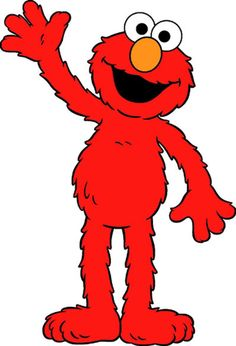 full length elmo graphic good resolution