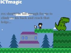 A wonderful story site for younger children where the readers play a platform game with Rex the dinosaur to follow the storyline. Story Site, Computer Lab, Learning Resources, Early Learning, New Job, School Stuff, Language, Classroom, Platform