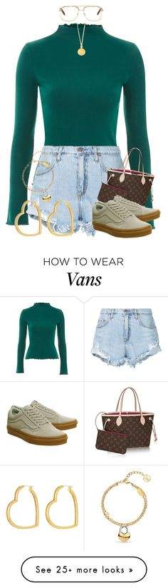 """Finesse"" by paolasofiaburgos on Polyvore featuring Topshop, Nobody Denim, Vans, Henri Bendel and Victoria Beckham"
