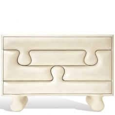 PUZZLE CHEST (LG) - GOATSKIN  Scala Luxury