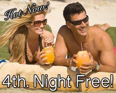Get a Free Night at Holiday Inn Resort Montego Bay, Jamaica.  #HolidayInnResortJamaica #Jamaica #MontegoBay #Resort #Vacation.