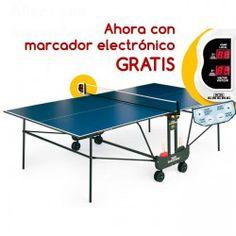 Mesa Ping Pong Enebe New Point con Marcador