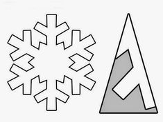 Paper Snowflake Template, Paper Snowflakes, Origami, Virtual Stock Market, Japanese Cherry Tree, Cute Drawings, Christmas Crafts, Crafts For Kids, Blog