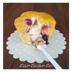 tartearte: Muffins de chocolate blanco y frutos rojos!!!