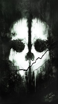 This is the Leaked poster of the new Call of Duty Ghosts game and I shrunk it down to fit an iphone 5 for a wallpaper. Call of Duty: Ghosts (iPhone 5 Wallpaper) Scary Wallpaper, Halloween Wallpaper, Mobile Wallpaper, Wallpaper Backgrounds, Forest Wallpaper, Call Od, Tattoo Ghost, Geforce Wallpaper, Ghost Logo