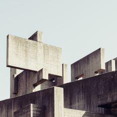 Concrete Cross II, White Bunny Photography