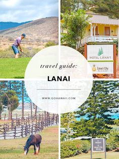 Find travel information about the island of Lanai, including activities, lodging, dining and more from the official resource for the state of Hawaii. Hawaii Resorts, Vacation Rentals By Owner, Hawaii Vacation, Hawaii Travel, Beach Trip, Hawaii Hawaii, Lanai Island, Big Island, Travel Destinations Beach