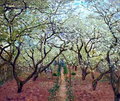 Claude Monet / Orchard in Bloom, 1879