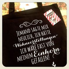 Gnihi. Großartig. Wir haben noch mehr Beutel & Turnbeutel mit coolen… Harry Potter Texte, Herren T Shirt, Inspirational Gifts, Jute, Silhouette Cameo, Shopping Bag, Reusable Tote Bags, Humor, Creative