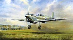 Spitfire Prototype First Flight, March 5 1936, by J.W. Mitchell