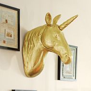 """This might be my """"christmas break"""" project... Pottery barn's is kind of ugly... I might be able to do better with paper mache and some gold metallic spray paint..."""