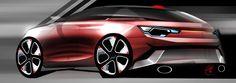 car sketch photoshop design Alessandro_Zanotti