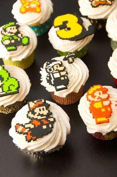Mario Bros Cupcakes