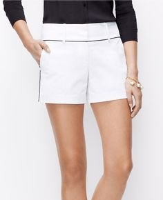 Piped City Shorts