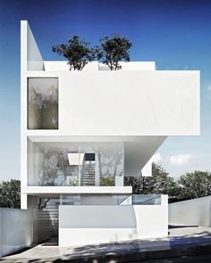 """#architecturedose Describe this house with ONE WORD! """"ALFREDO HOUSE"""" By @ruivieiraoliveira Render: @uli.arquitecto - Make sure to follow ( @architecturedose ) _________ #white #house #houses #contemporary #luxury #3dmax #3drender #render #modern #glasses #dreamhouse #futurehouse #exteriors #archi #archilovers #clean #lessismore #windows #geometric - Architecture and Home Decor - Bedroom - Bathroom - Kitchen And Living Room Interior Design Decorating Ideas - #architecture #design…"""