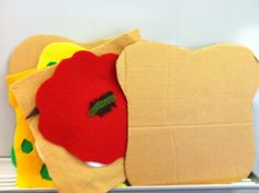 I love picnics. I love sandwiches. I do not, however, love bugs. Sam's Sandwich by David Pelham is a wonderful lift-the-flap book. It's a bit small for story times. This flannel/prop story is from ...