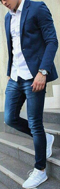 More fashion inspirations for men, menswear and lifestyle @ Mens Fashion Blog, Fashion Mode, Fashion Tips, Fashion 2016, Fall Fashion, Style Fashion, Mode Masculine, Komplette Outfits, Casual Outfits