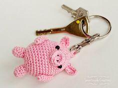 Smartapple Creations - amigurumi and crochet: Amigurumi key chains EJEMPLOS